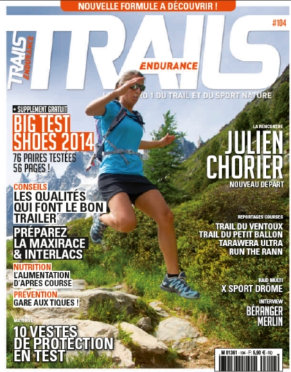 Trails Endurance May-June Issue, French Magazine